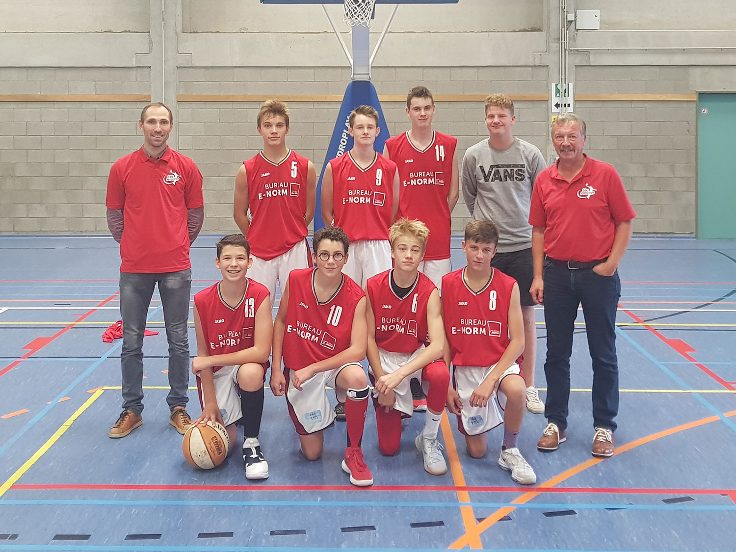Antwerp Giants J16 A vs BBC Poperinge J16 A: 114-54